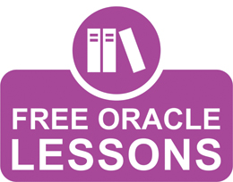 Free Oracle Lessons